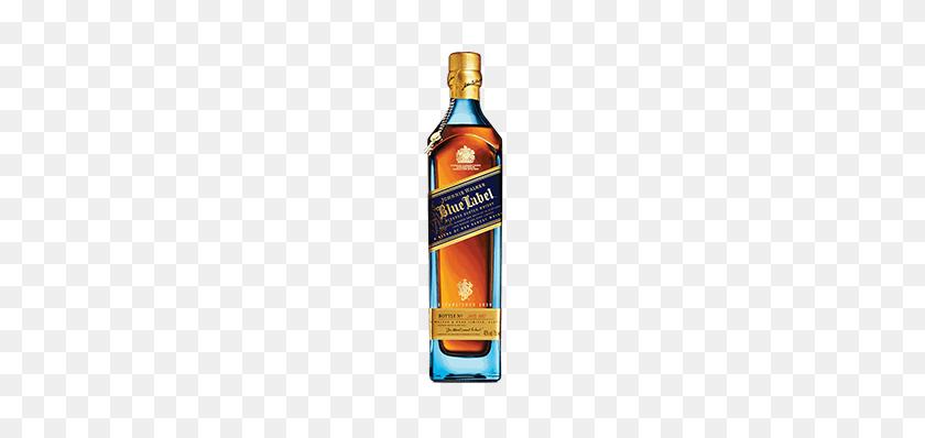 Johnnie Walker Blue Label Scotch Whisky Johnnie Walker - Whiskey Bottle Clip Art