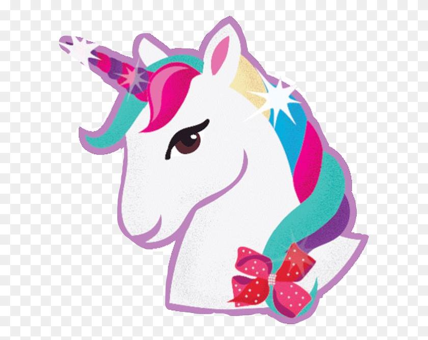 Jojo Unicorn Jojosiwa Jojo Siwa Unicorn Cute Sticker - PNG Unicorn