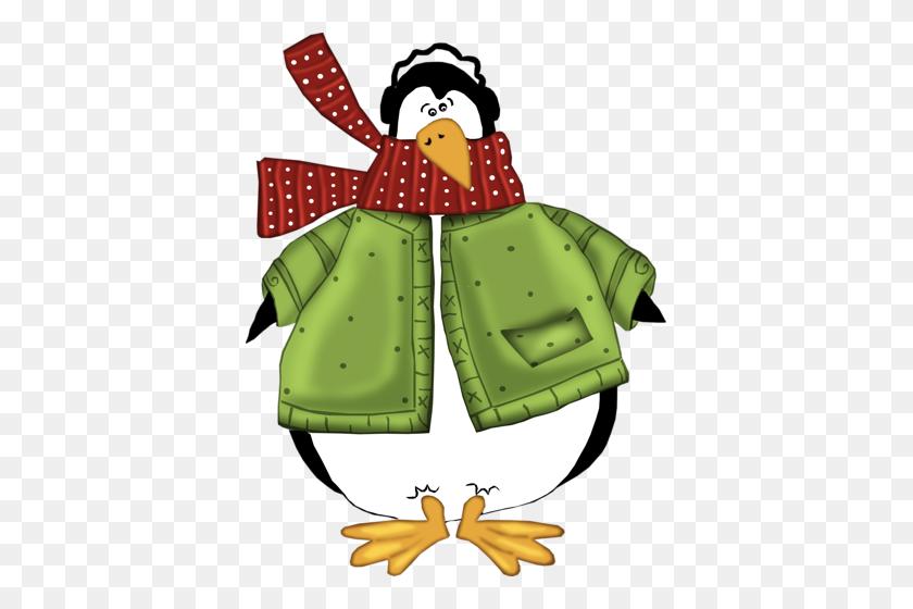 Joyful Tidings Art Winter Time - Winter Animals Clipart