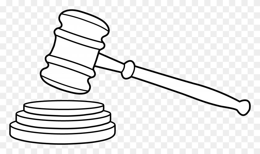 Judge Hammer Cliparts - Judge Clipart