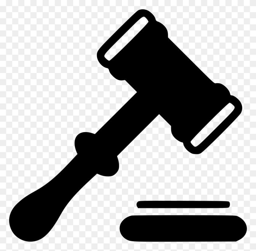 Judge Png Black And White Transparent Judge Black And White - Gavel PNG