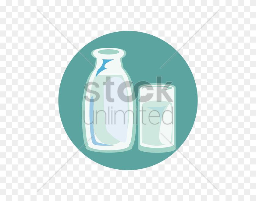 Jug And Glass Of Milk Vector Image - Milk Jug PNG