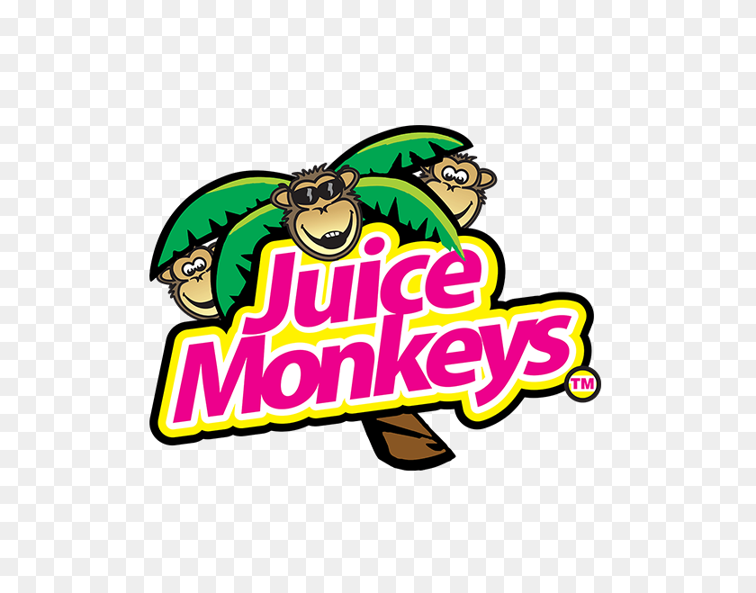 Juice Monkeys - Monkey Banana Clipart