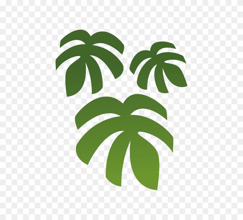 Jungle Wall Stickers For Children, Jungle Leaves Stickers - Jungle Leaves PNG