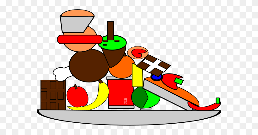 Junk Food Clipart - Unhealthy Food Clipart