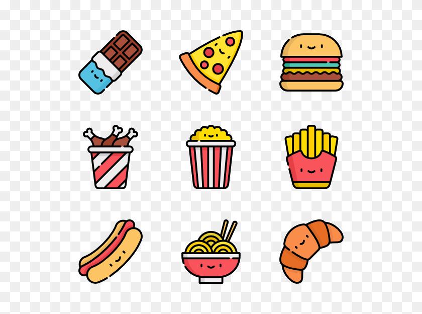 Junk Food Icon Packs - Junk Food PNG