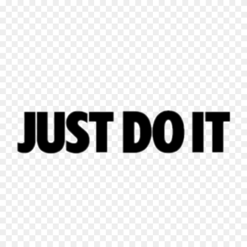 Just Do It Nike Justdoit Font Aesthetic Tumblr Sticker ...