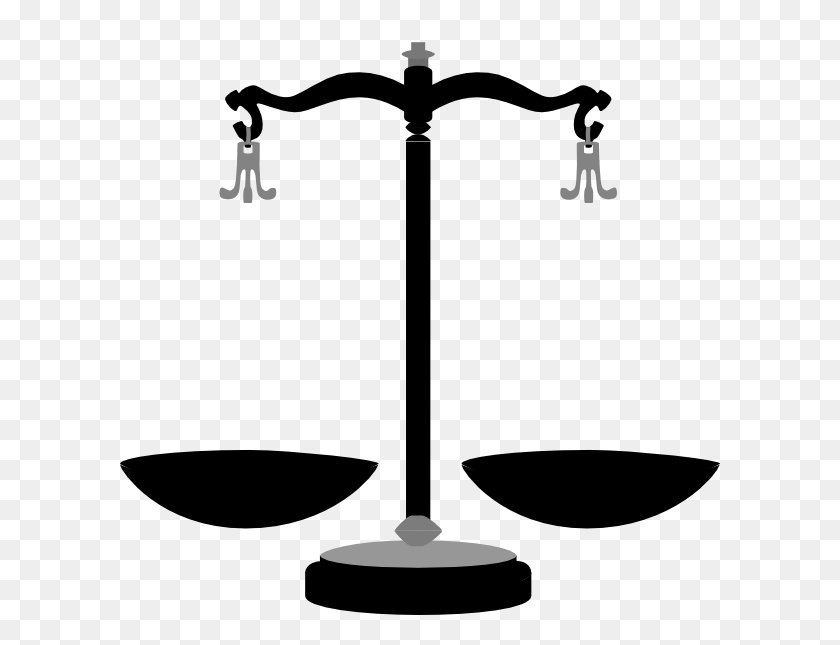 600x585 Justice Cliparts - Free Clipart Images Scales Of Justice