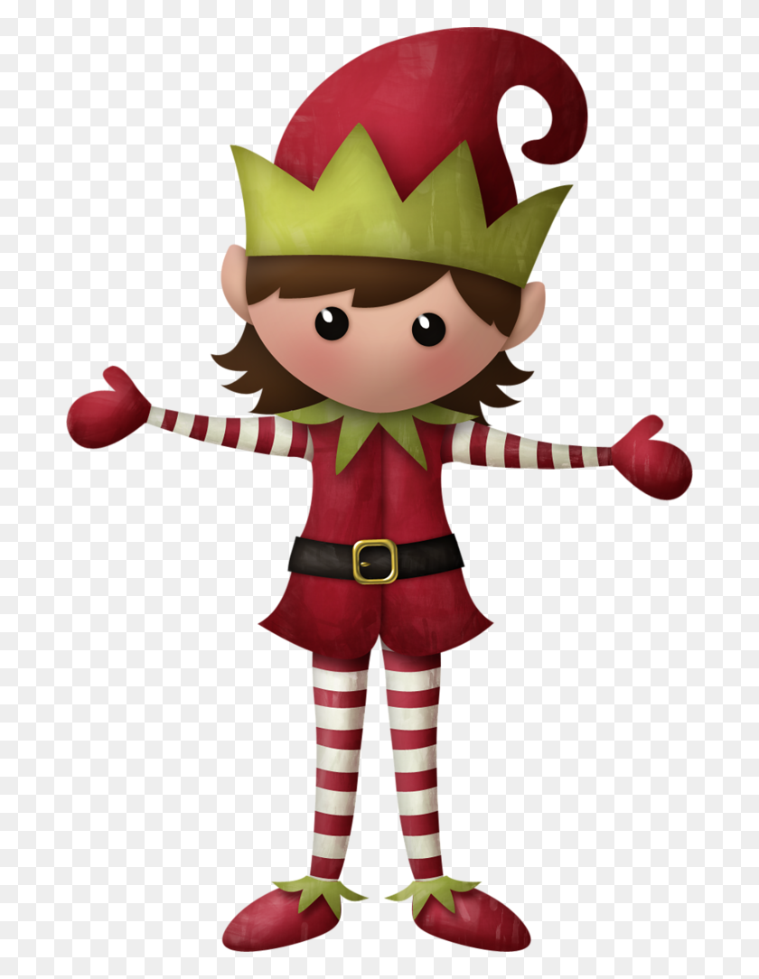 Kaagard Merrychristmas Christmas Elves - Santas Elves Clipart