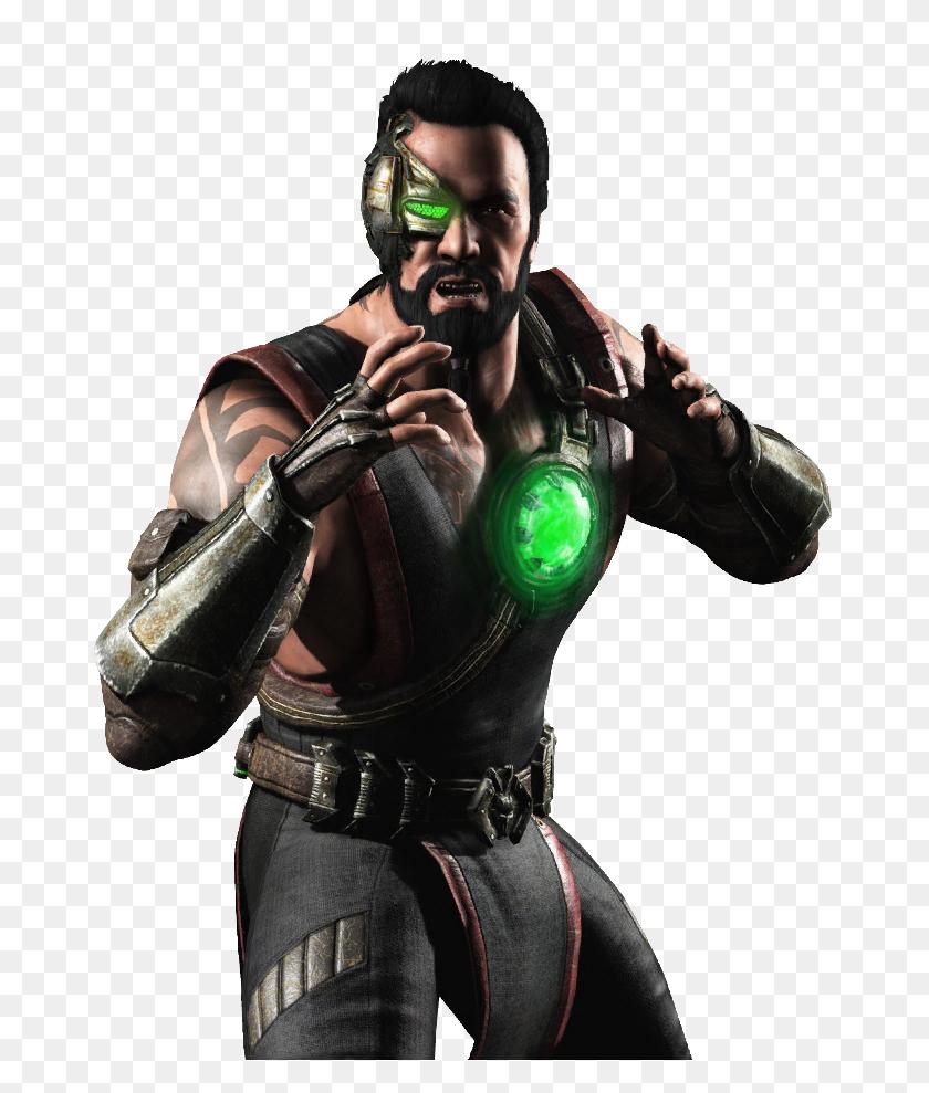 Kano The Black Dragon Member From The Mortal Kombat Series - Mortal Kombat PNG