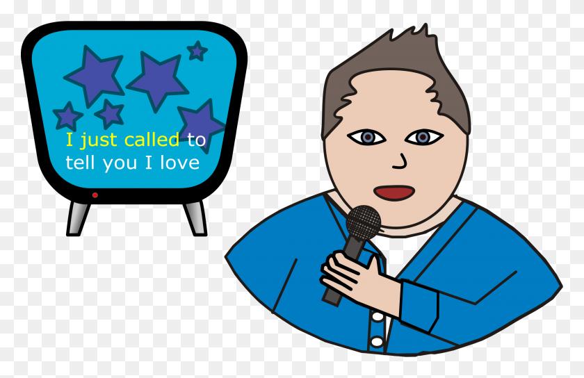 Karaoke Man Clip Art - Karaoke Clipart