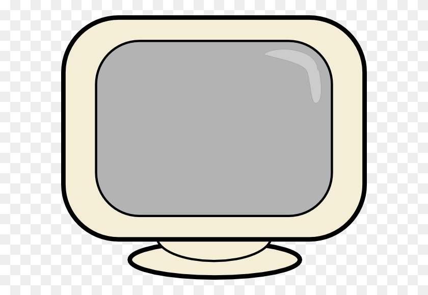 Karderio Computer Screen Clip Art Free Vector - Screen Time Clipart