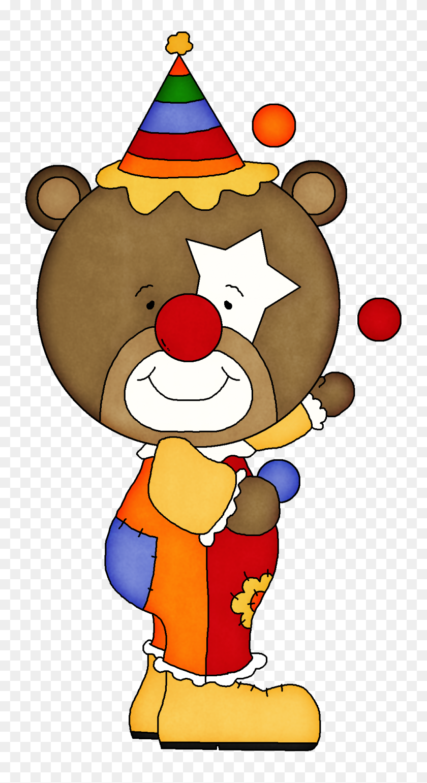 Karneval - Clown Clipart PNG