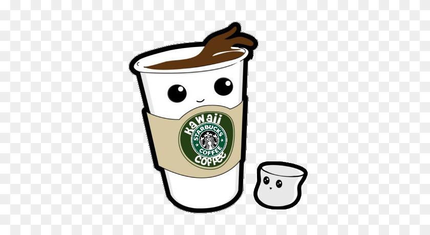 Kawaii Coofee Starbucks Kawaii Starbucks Cooffee - Starbucks PNG