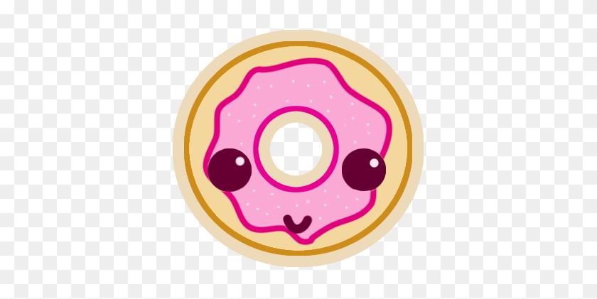 Kawaii Donut Png Transparent Kawaii Donut Images - Donut PNG Clipart