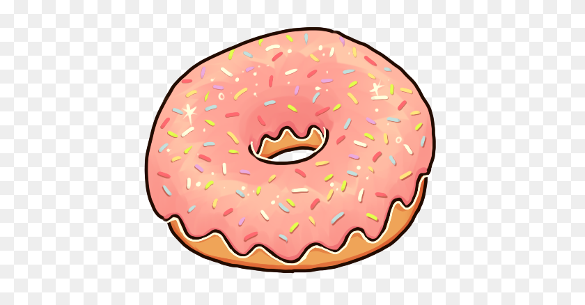 Kawaii Donut Png Transparent Kawaii Donut Images - Doughnut PNG