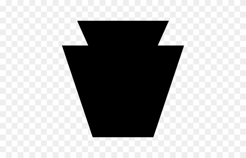 Keystone State Symbol Pennsylvania - Keystone Clipart