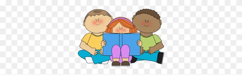 Kid Reading Clipart Children Reading Book Clipart - Reading Book Clip Art