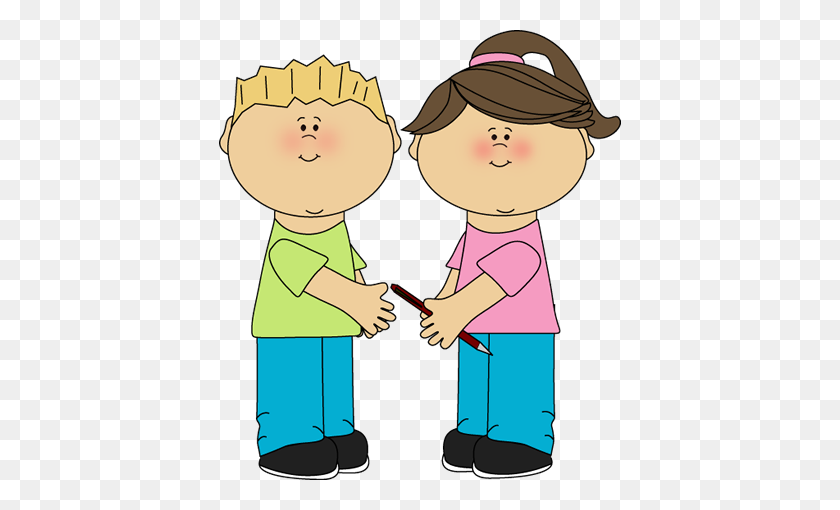 402x450 Kids Being Nice Png Transparent Kids Being Nice Images - Being Nice Clipart