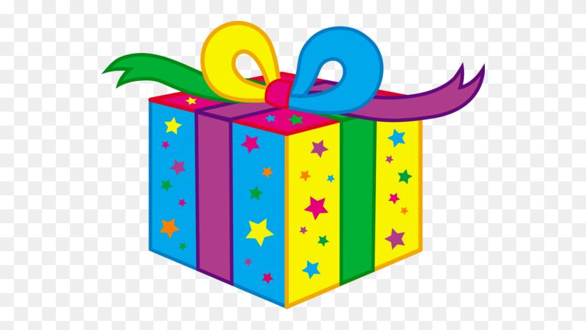 550x413 Kids Birthday Party Present - Free Clipart Birthday Celebration
