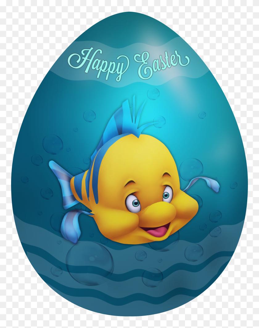 Kids Easter Egg Flounder Png Clip Art Gallery - Flounder Clipart