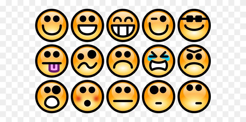 Kids Mood Chart Faces Clip Art - Mood Clipart