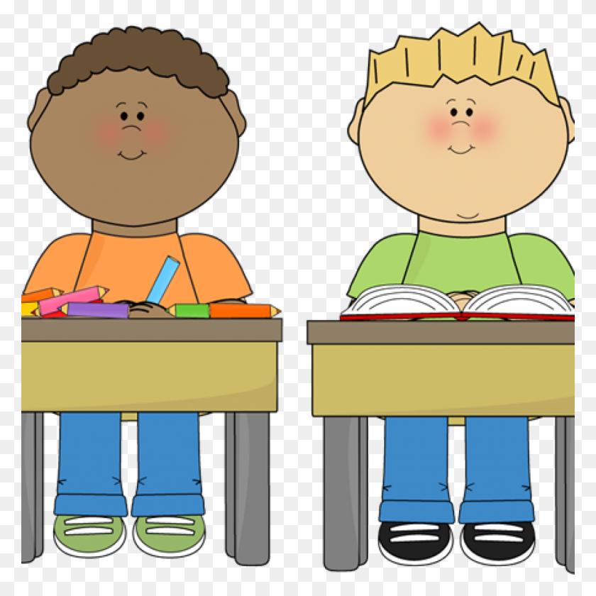 Transparent Kids Listening Clipart - Kids Writing Clipart, HD Png Download  - kindpng