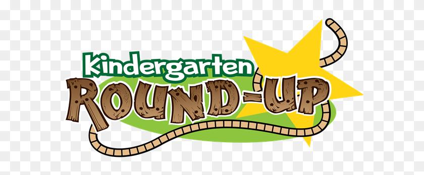 600x287 Kindergarten Round Up - Welcome To Kindergarten Clipart