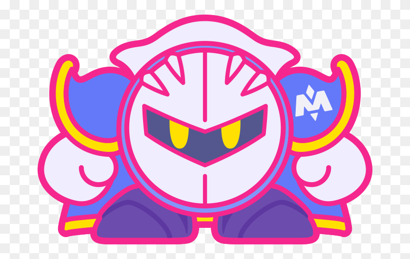 Kirby Clipart Meta Knight - Anniversary Clip Art