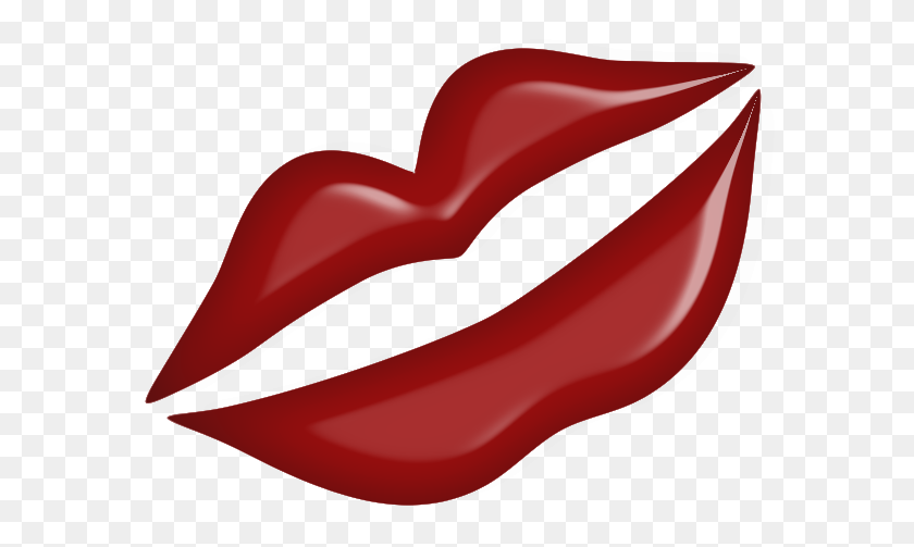 Kiss Clipart Kissy Lip - Blowing A Kiss Clipart