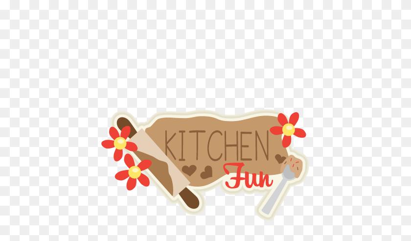Kitchen Fun Title Scrapbook Cute Clipart - Kitchen PNG