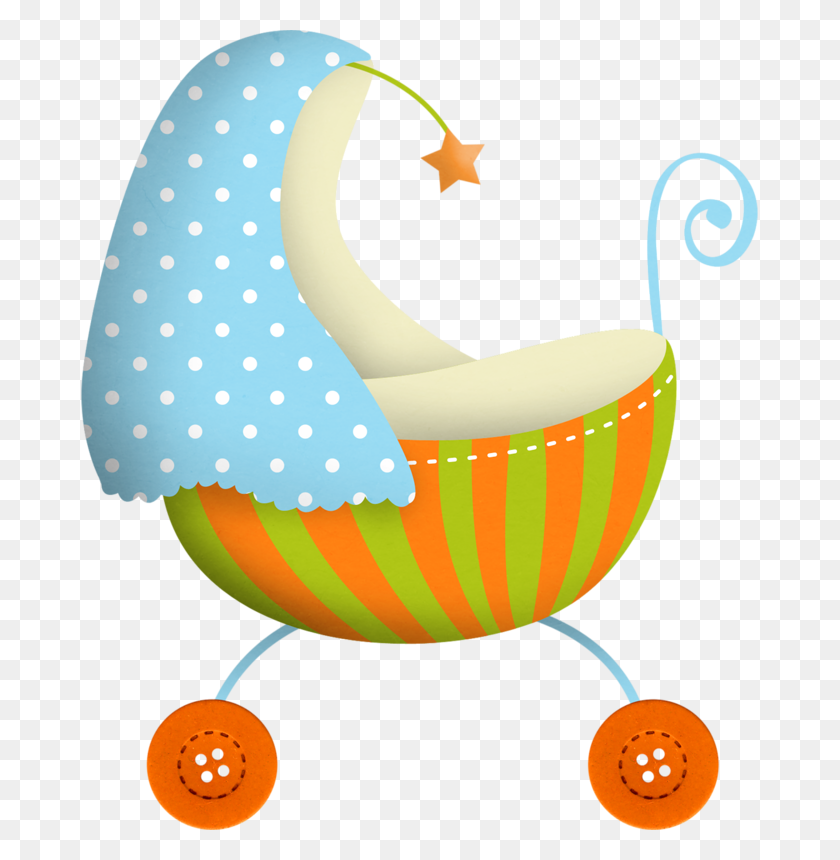 Kittydesigns Littleloveboy Stroller Baby Baby - Baby Pumpkin Clipart