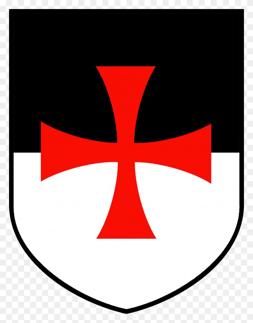 Knights Templar Bezant Shield - Crusader Shield Clipart