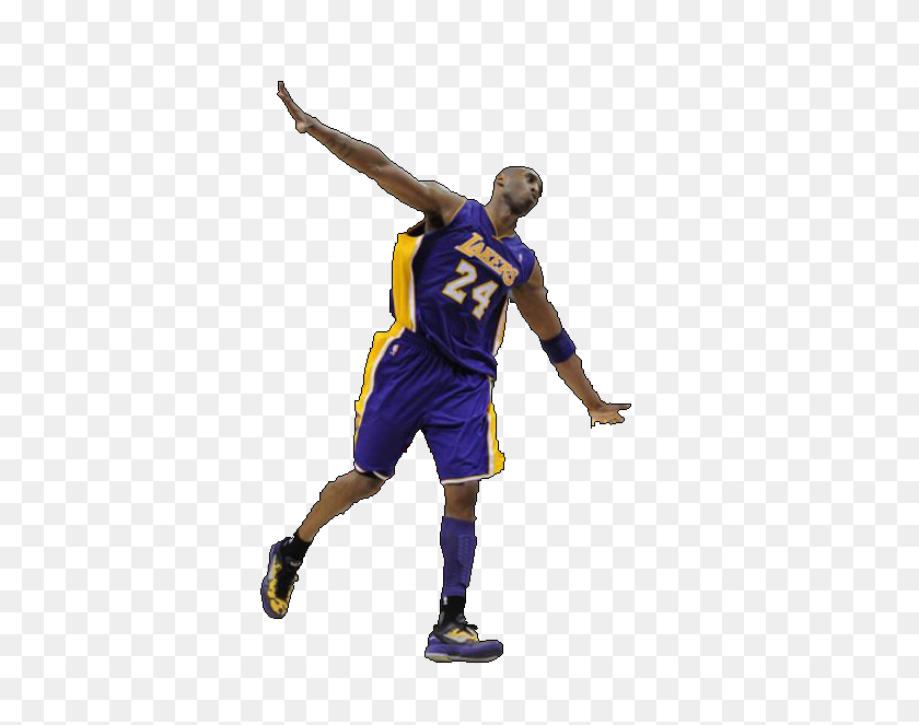 Kobe Bryant Flying Png Lakersgifs Animated Laker Gifs, Laker - Lonzo Ball PNG