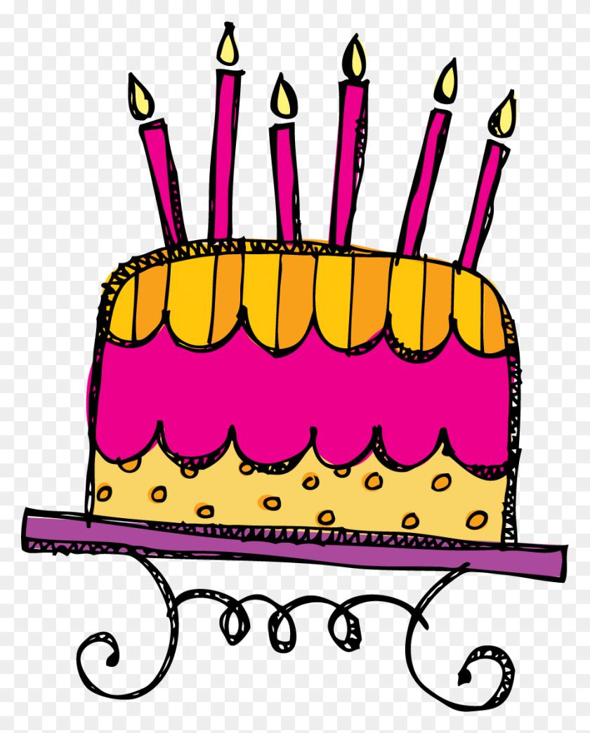 Kpm Doodles - January Birthday Clipart