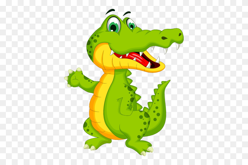 Krokodil Clip Art Darzelis Cartoon, Crocodile Cartoon, Cartoon - Crocodile Clipart