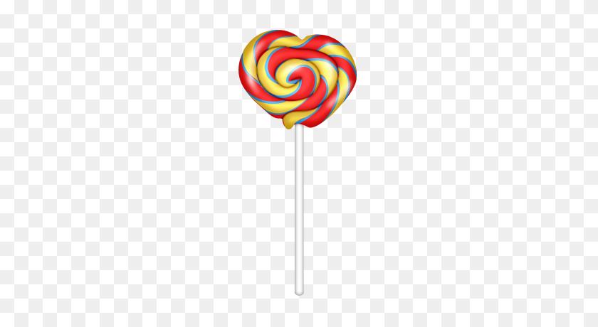 190x400 L Clip Art - Lollipop Clip Art