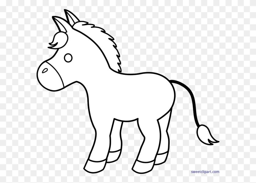 La, Author - Pony Clipart Black And White