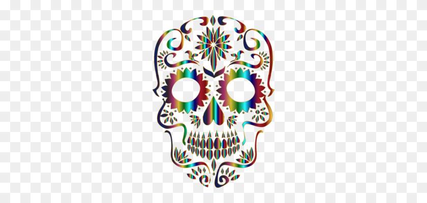 La Calavera Catrina Human Skull Symbolism Day Of The - Calavera La Catrina  Clipart (#448966) - PinClipart