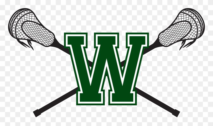 Lacrosse Logos - Crossed Lacrosse Sticks Clipart