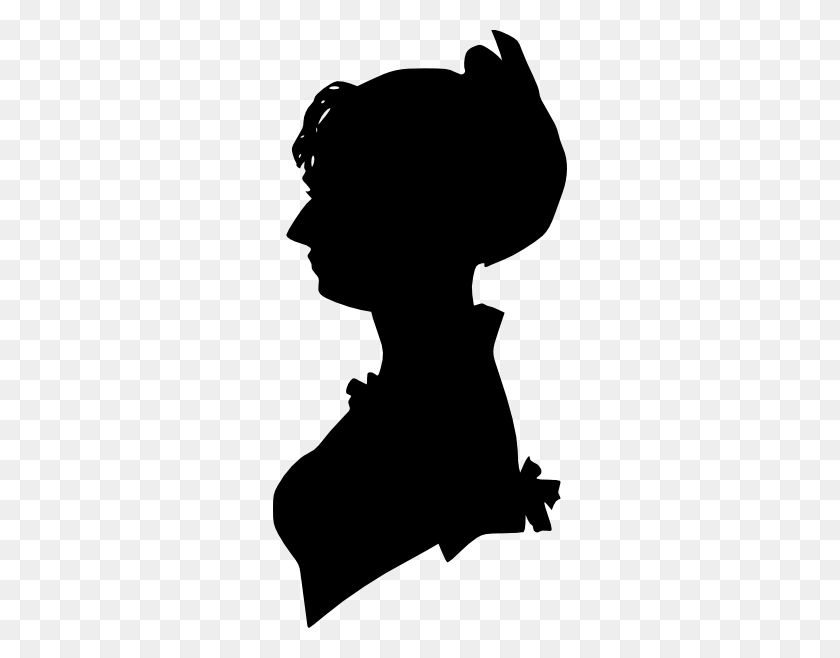 Lady Silhouette Man Silhouettes, Woman Silhouette - Restroom Clipart