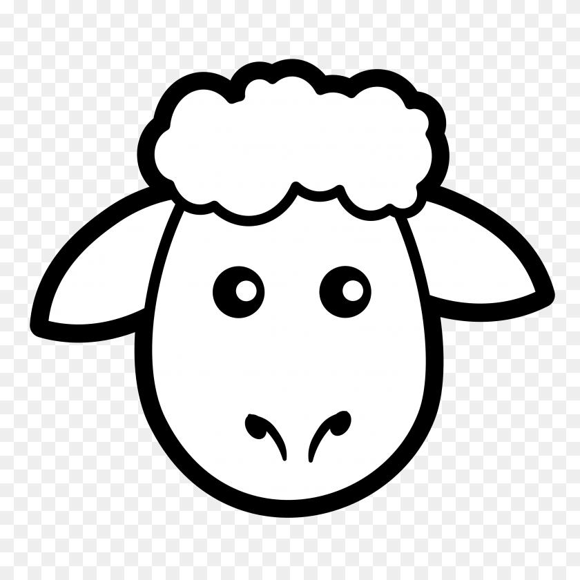 Lamb Clip Art Black And White - English Bulldog Clipart