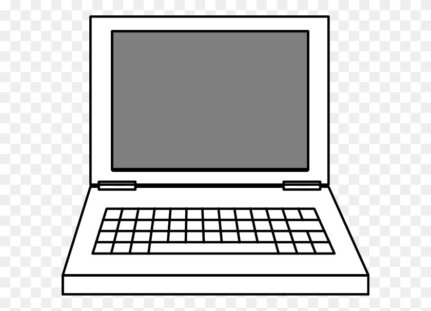 Laptop Clip Art Image - Personal Computer Clipart
