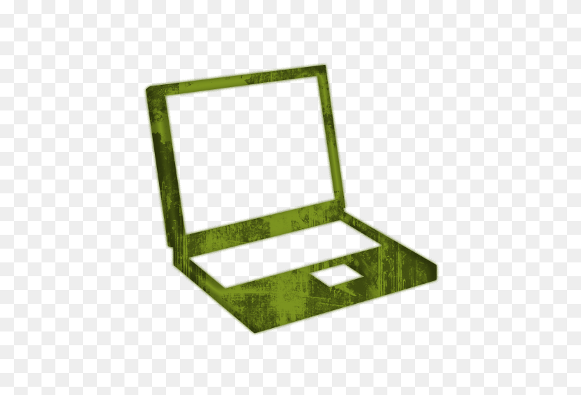Laptop Clipart Green - Computer Clip Art Free