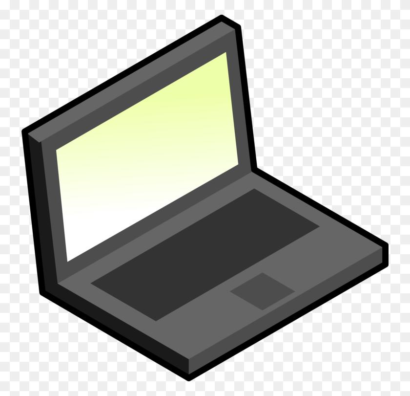 Laptop Computer Icons Diagram Download Personal Computer Free - Personal Computer Clipart