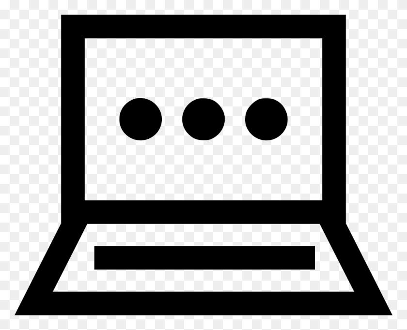 Laptop Loading Dots Pc Mac Monitor Web Png Icon Free Download - Mac Laptop PNG
