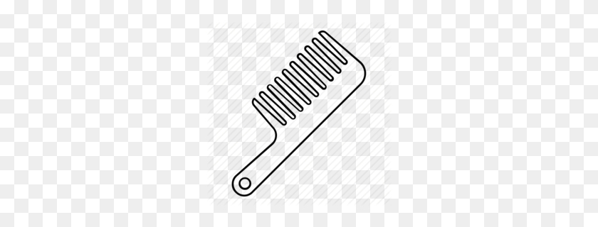 Large Image Of Comb Clipart - Comb Clipart
