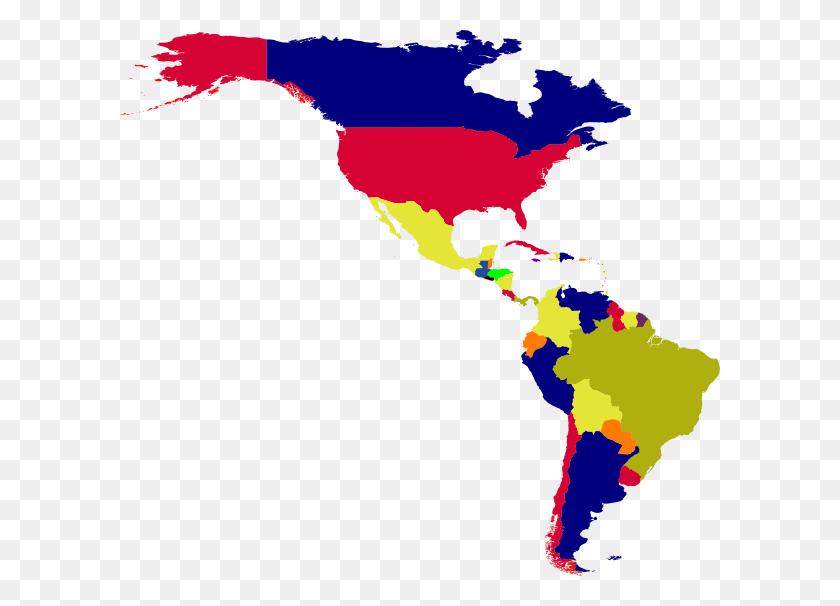 Latin America Simple Clip Art - Latin America Clipart