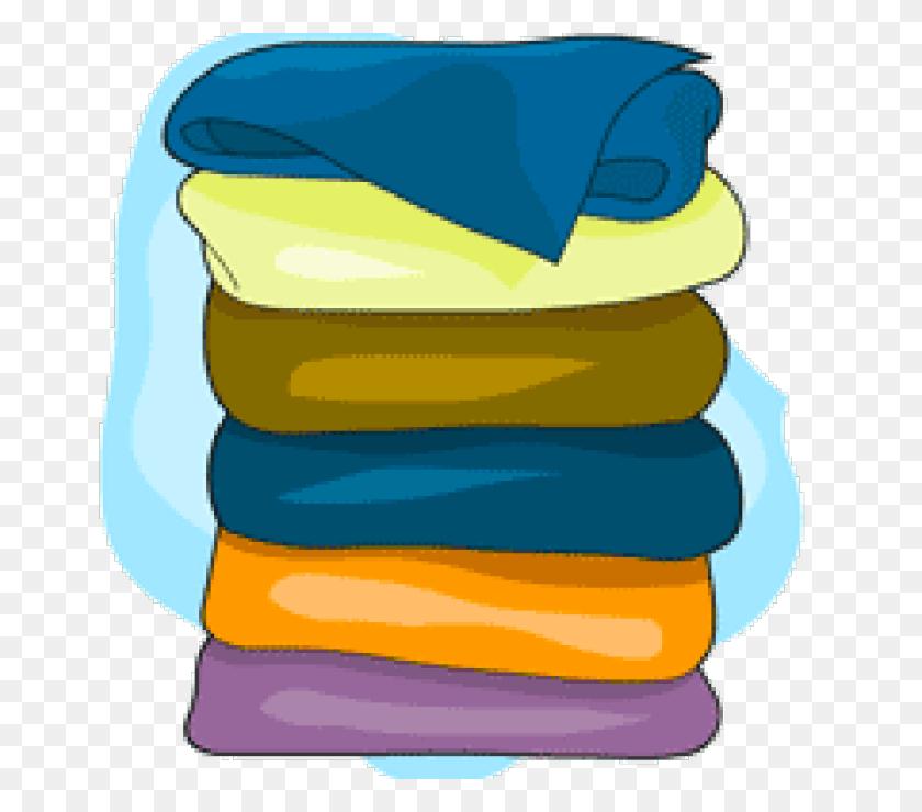 Laundry Clipart Laundry Basket Clipart - Folded Laundry Clipart