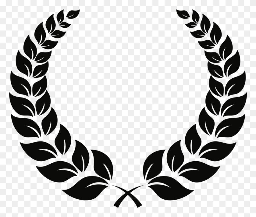 Laurel Wreath Bay Laurel Award - Olive Wreath Clipart